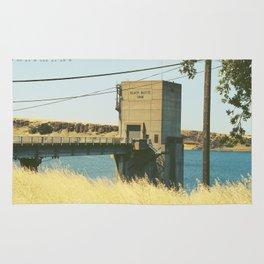 Black Butte Dam Rug