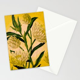Yellow Floral Stationery Cards