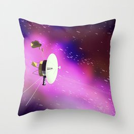 Voyager 2 Throw Pillow