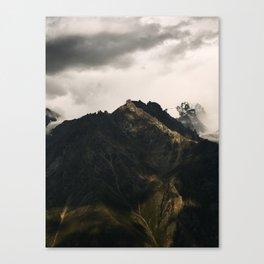 Mountain tower Canvas Print