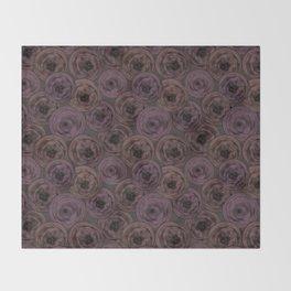 Chocolate velvet . Throw Blanket