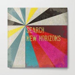 Search New Horizons Metal Print