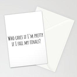 If I Fail Stationery Cards