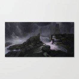 Tides Canvas Print