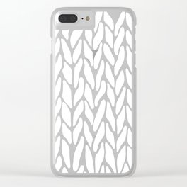Hand Knitted Clear iPhone Case
