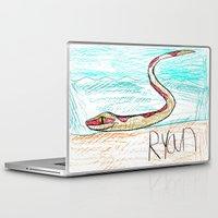 monty python Laptop & iPad Skins featuring The Python by Ryan van Gogh