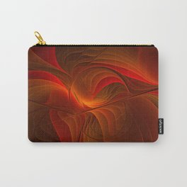 Warmth, Abstract Fractal Art Carry-All Pouch