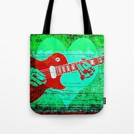 Guitar Love Tote Bag