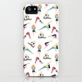 Yoga Pattern iPhone Case