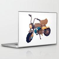 honda Laptop & iPad Skins featuring #1 honda z50 by Brownjames Prints