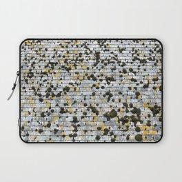 Moss on a Slate Roof Overhead Laptop Sleeve
