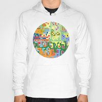 world maps Hoodies featuring Maps by Tony Vazquez
