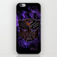 transformers iPhone & iPod Skins featuring Autobots Abstractness - Transformers by DesignLawrence