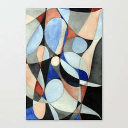 Geometric Botanicals 74 Canvas Print