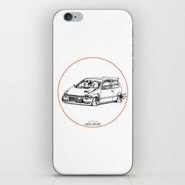 Crazy Car Art 0211 iPhone Skin