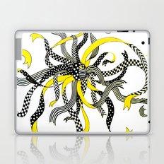 Swirling Ribbons Laptop & iPad Skin