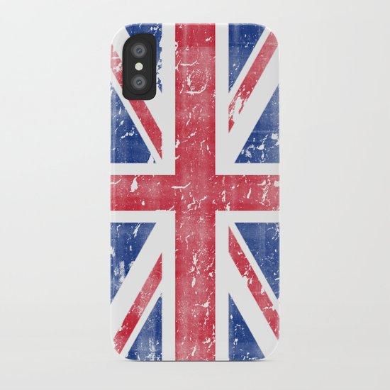 Vintage Union Jack iPhone Case