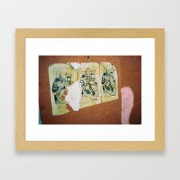 Claudia Makes up her Mind Framed Art Print