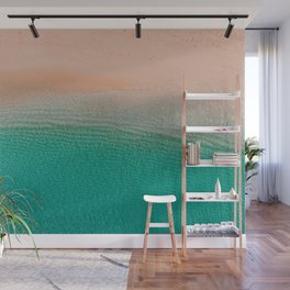 5 o'clock; and there's a beach somewhere! Wall Mural