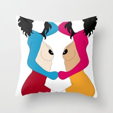 VANITY - CENSURED Throw Pillow