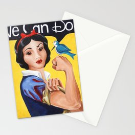 Rosie the Riveter, We Can Do It Stationery Cards