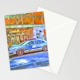 New York Police Department Pop Art Stationery Cards
