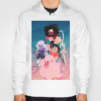 steven universe Hoodies featuring Steven Universe by Taylor Barron