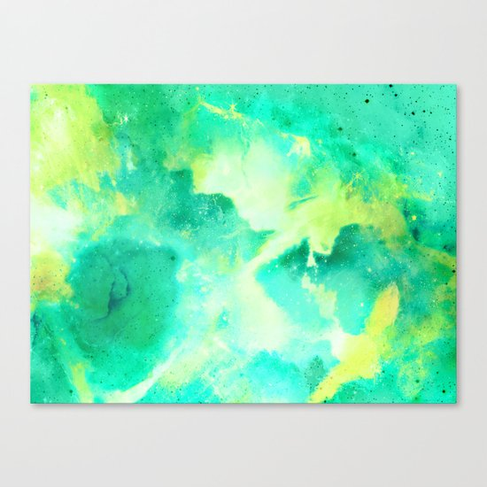 Gold & Jade for the Emperor Canvas Print