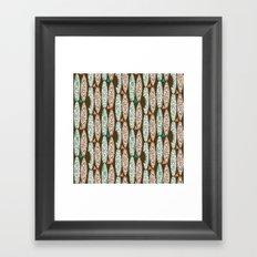 Fins & Boards Framed Art Print