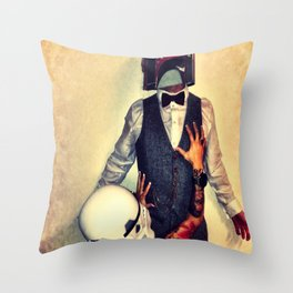 LL Cool Fett Throw Pillow