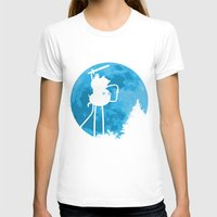 finn and jake T-shirts featuring A.T. - With Finn and Jake by Duke Dastardly