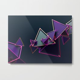 neon5 Metal Print