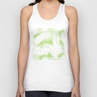 feather Tank Tops featuring Feather  by Mr and Mrs Quirynen