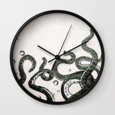 Octopus Tentacles Wall Clock