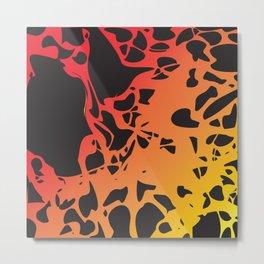 lava volcano Metal Print
