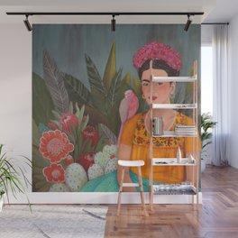 Frida a la casa azul Wall Mural