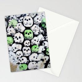 SKULL, by Ludo Stationery Cards