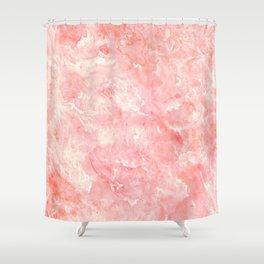 Art Deco Pink Shower Curtain