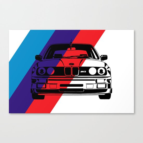E30 M3 Canvas Print