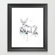 Crowned II Framed Art Print