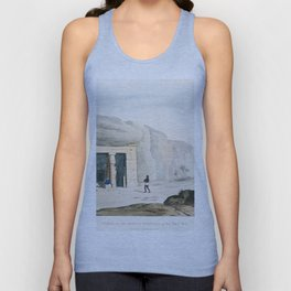 Egypt vintage art Unisex Tank Top