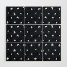 Midnight Starlet Wood Wall Art
