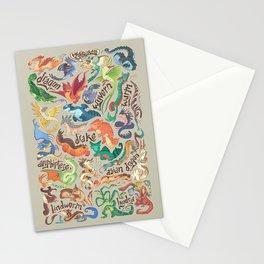 Mini Dragon Compendium Stationery Cards