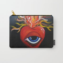 Heart exploding Carry-All Pouch