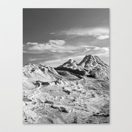 White Pocket 2 Canvas Print