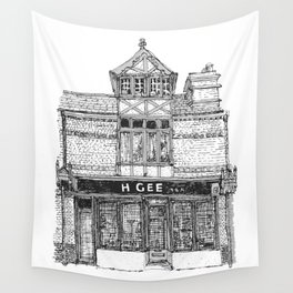 H. GEE_94a Mill Road_Cambridge Wall Tapestry