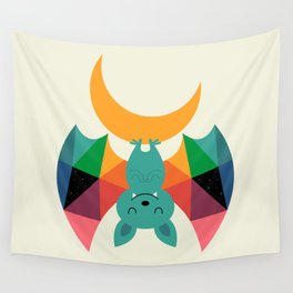 Moon Child Wall Tapestry