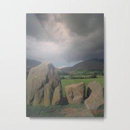 Standing Stones Metal Print