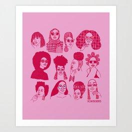 Babes of Summer Art Print