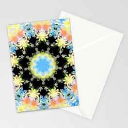 Kaleidoscope 'Twisted Flower' Stationery Cards